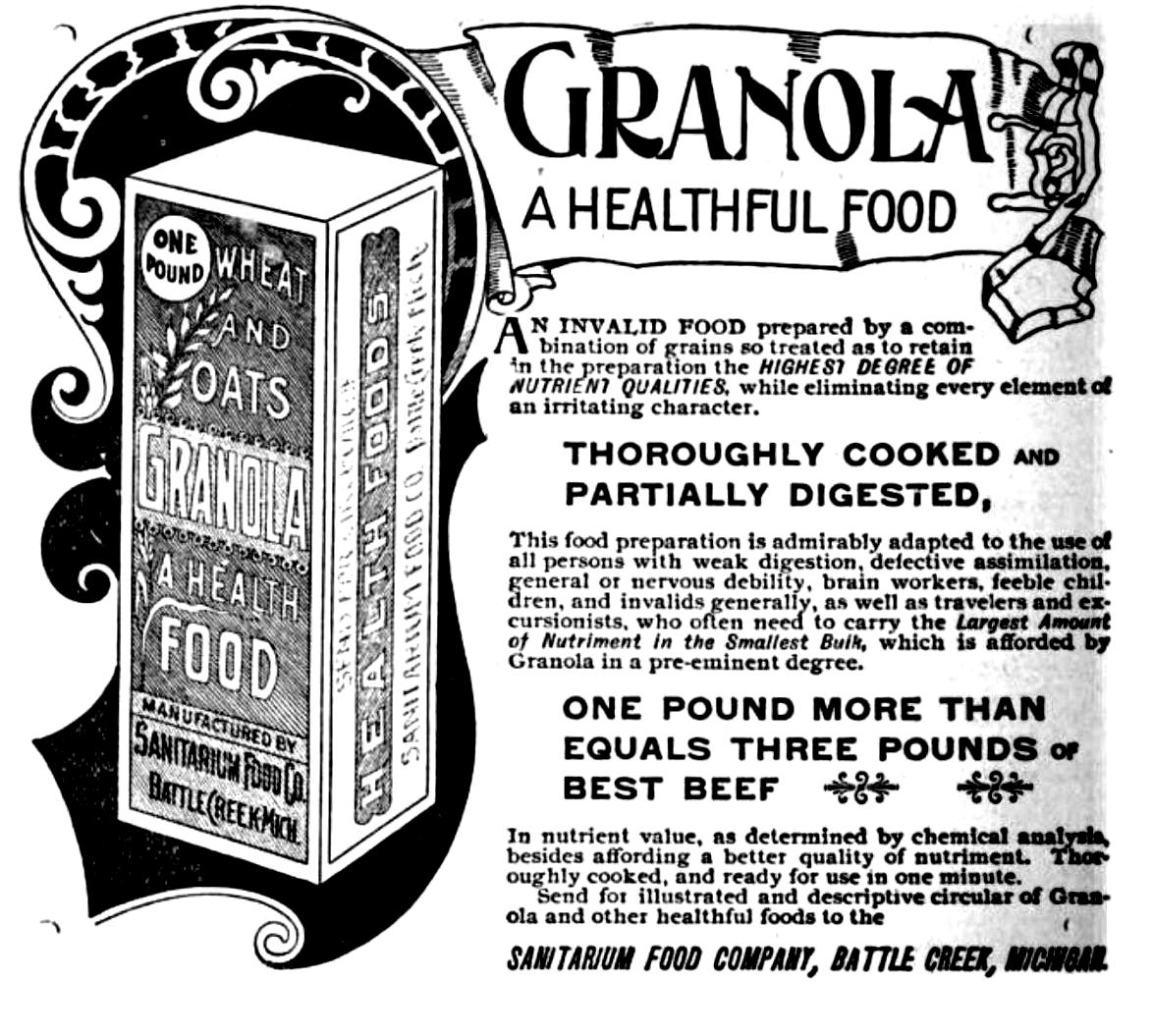Granola történelem