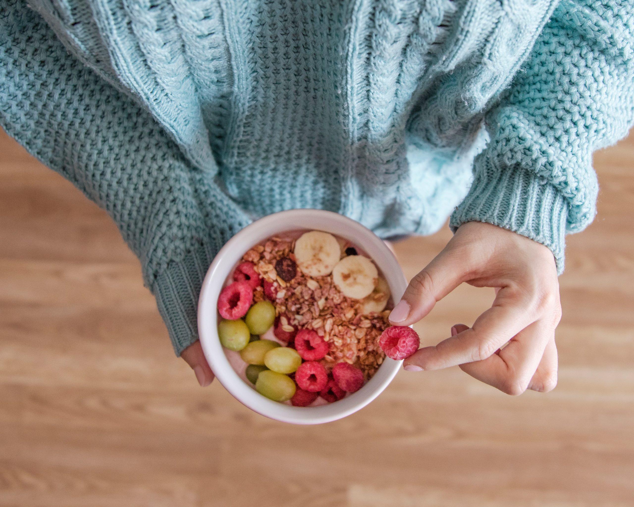 granola reggeli