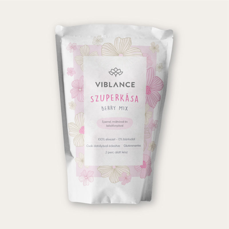 400g of Viblance Super Porridge: Berry Mix