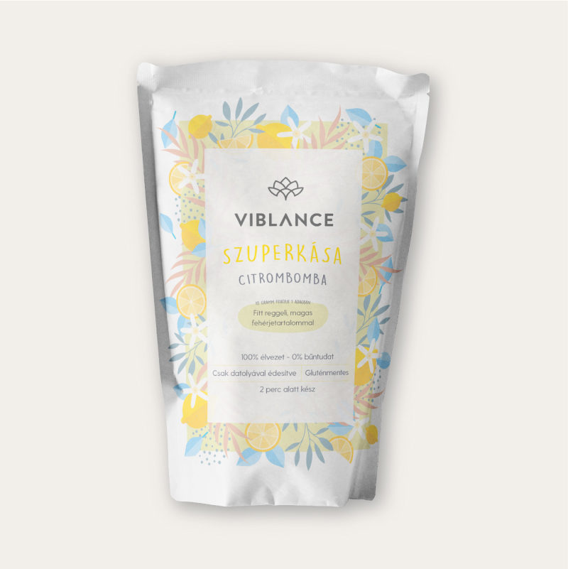 400g of Viblance Super Porridge: Lemon bomb