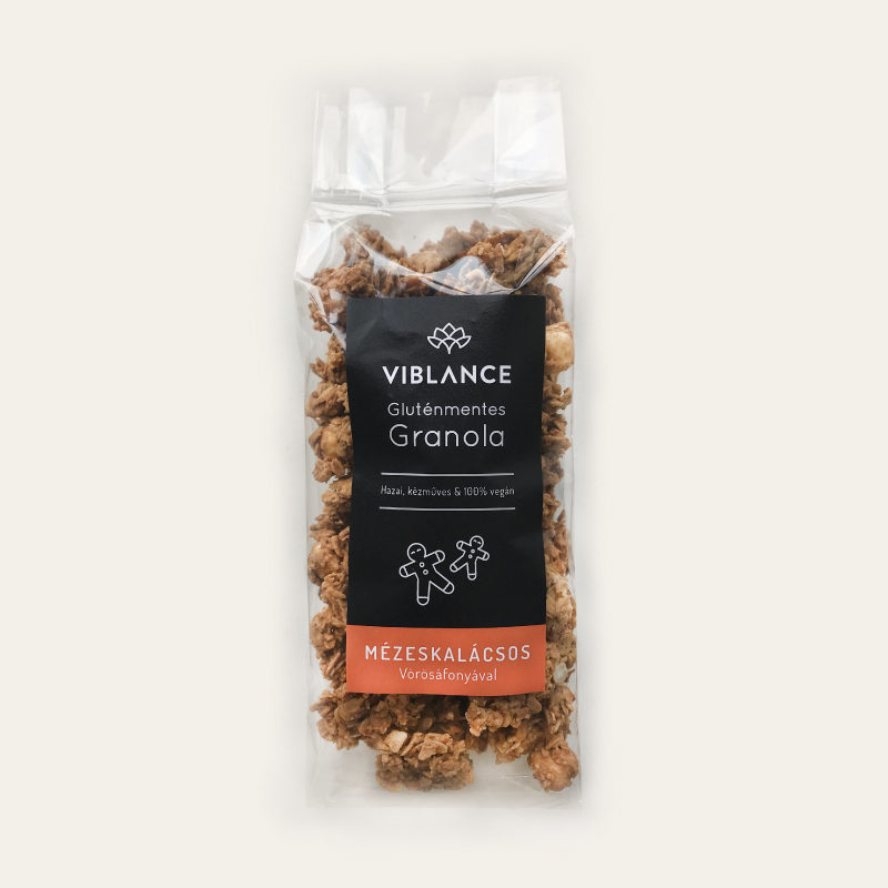 Small bag of Viblance granola (250g) - Gingerbread