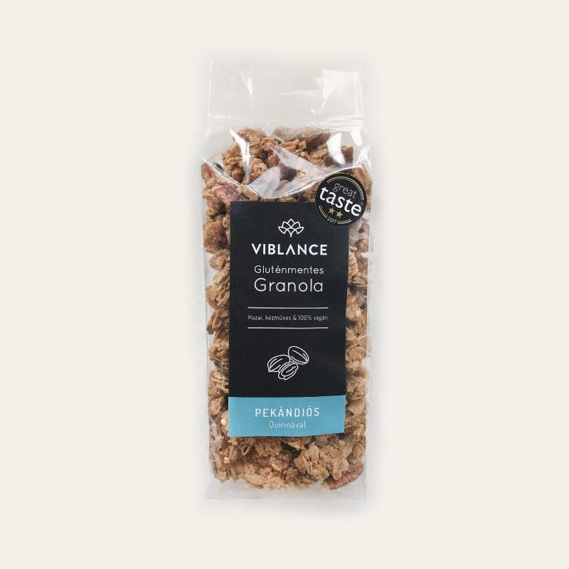 Small bag of Viblance granola (250g) - Pecan with quinoa