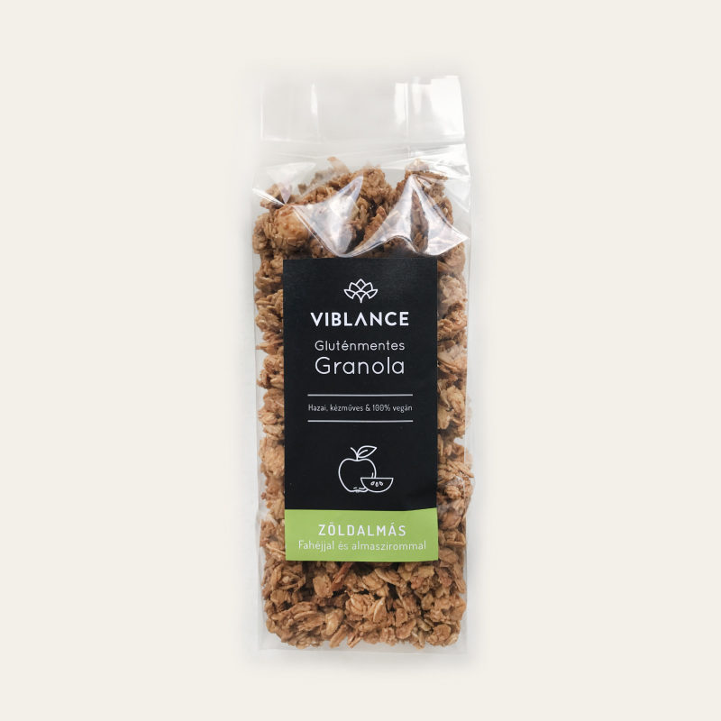 Small bag of Viblance granola (250g) - Green apple