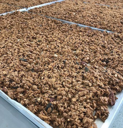 Granola készítés