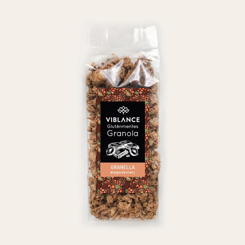 Viblance Mogyorókrémes granola