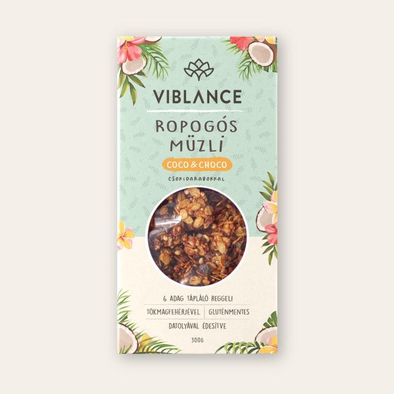 Viblance Coco & Choco Ropogós Müzli