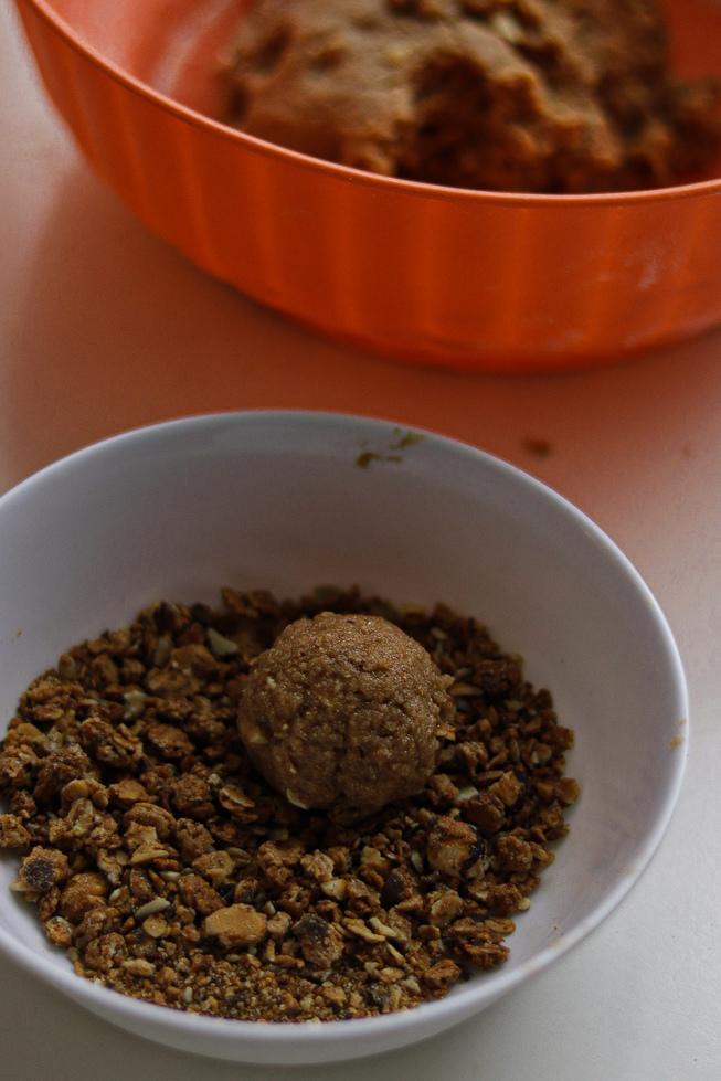 mogyoróvajas granellás keksz