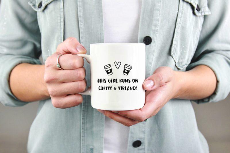 Viblance kávés bögre 300ml