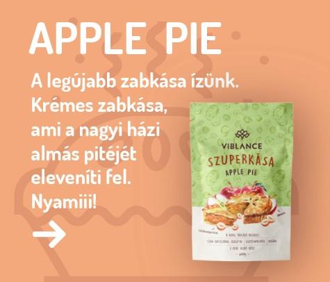 Új Viblance Zabkása: Apple Pie - Almás Pité