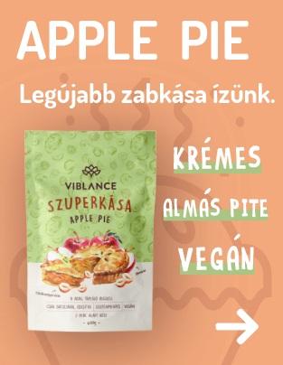 Viblance apple pie - Uj zabkása - almás pité