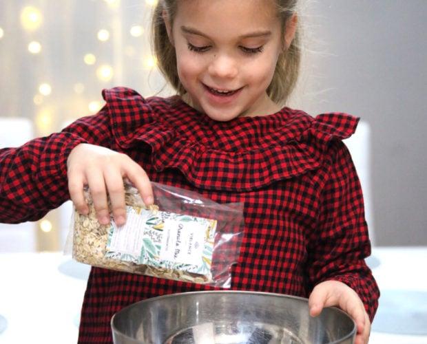 granola sütés