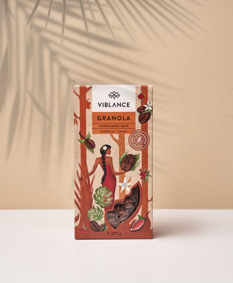Viblance Csokoládés Kávé Granola 275 g